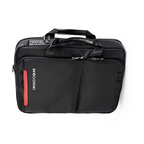 Crossgear Laptop Briefcase With Combination Lock 15.6 Inch Laptop Bag,Business Office Bag For Men
