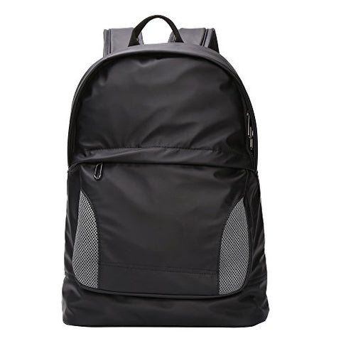 Bison Denim Classic Water Repellent Backpack Computer Travel Hiking Laptop Backpacks Daypack Black