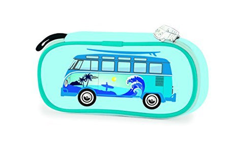 Vw Collection By Brisa Pencil/Cosmetic Case - Campervan Surf Bus - Official Vw Licensed Product