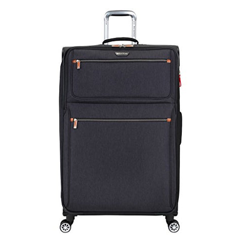 "Ricardo Beverly Hills Luggage Shasta Lake 30"" Spinner Upright Suitcase, Dark Charcoal"