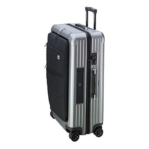 RIMOWA Lufthansa Bolero Collection Multiwheel XL+ Trolley with RIMOWA Electronic Tag, Silver 85L