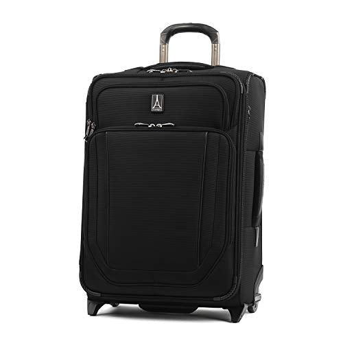 Travelpro Crew Versapack Max Carry-on Exp Rollaboard, Jet Black