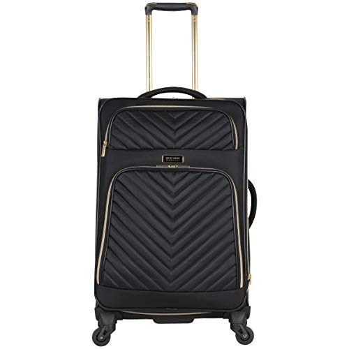 "Kenneth Cole Reaction Women's Chelsea 24"" 4-Wheel Upright Luggage, Black"