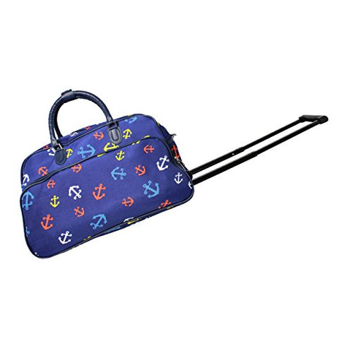 World Traveler Women'S Pacific 21-Inch Bag Rolling Duffel, Anchor Blue, One Size