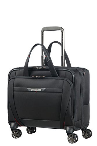 SAMSONITE PRO-DLX 5 - Spinner Tote for 15.6'' Laptop 3.3 KG Travel Tote, 44 cm, 22 liters, Black
