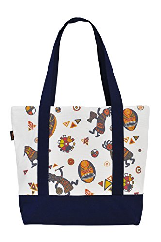 Vietsbay'S Women African Dancing Musiciansprint Heavyweight Canvas Handbags