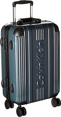 "Calvin Klein Fulton 21"" Hardside Spinner Carry-On Luggage, Gray"