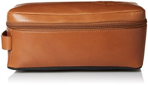 Tommy Bahama Men'S 100% Burnished Leather Travel Kit Toiletry Bag