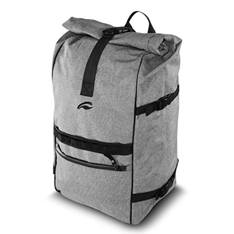 Vatra Skunk Rollup Backpack Black - Smell Proof - Water Proof (Gray)