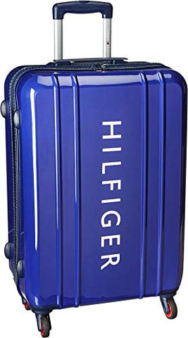 "Tommy Hilfiger Unisex 25"" Maryland Hardside Upright Suitcase Navy One Size"