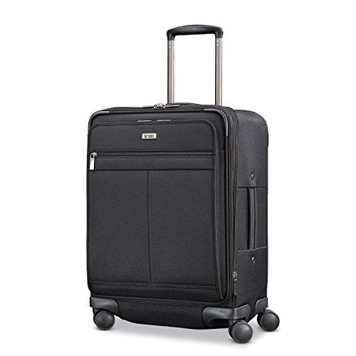 Hartmann Century Domestic Carry On Expandable Spinner Ss Carry-On Luggage, Basalt Black