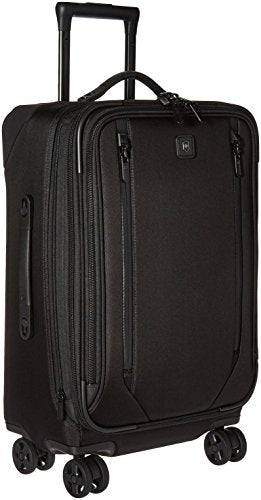 Victorinox Lexicon 2.0 Dual-Caster Large Expandable Spinner Carry-On, Black