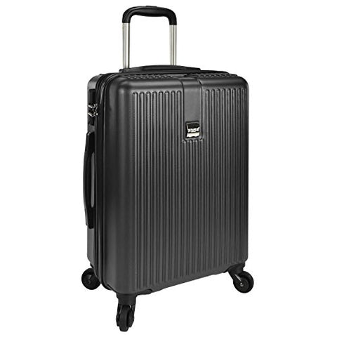 "U.S. Traveler Sparta 21"" Hardside Spinner Luggage Charcoal"