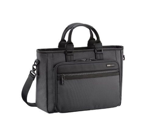 Zero Halliburton Zest Single Front Pocket Tote, Black, One Size