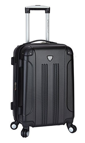 "Travelers Club ""Chicago"" 20"" Hardside Expandable Spinner Carry-On Luggage"