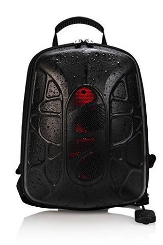 Trakk Shell Hiking Backpack With Waterproof Speaker - Lightweight Max-Bass Waterproof Shockproof