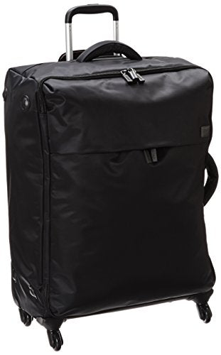 "Lipault Original Plume 28"" Spinner Lightweight Luggage (Black)"