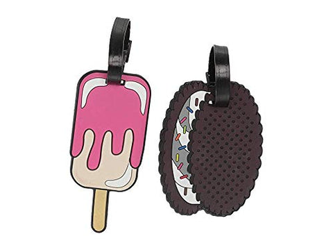 Betsey Johnson Ice Cream Luggage Tags Multi One Size