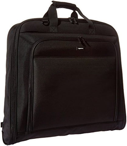 AmazonBasics Premium Travel Hanging Luggage Suit Garment Bag - 40 Inch, Black