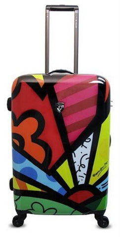 Heys Romero Britto New Day 26 Spinner Luggage