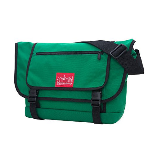 Manhattan Portage Willoughby Messenger Bag, Green, One Size
