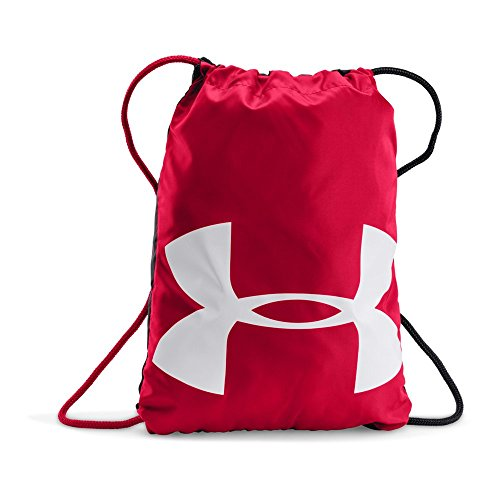 Under Armour Ozsee Sackpack, Red/White, One Size