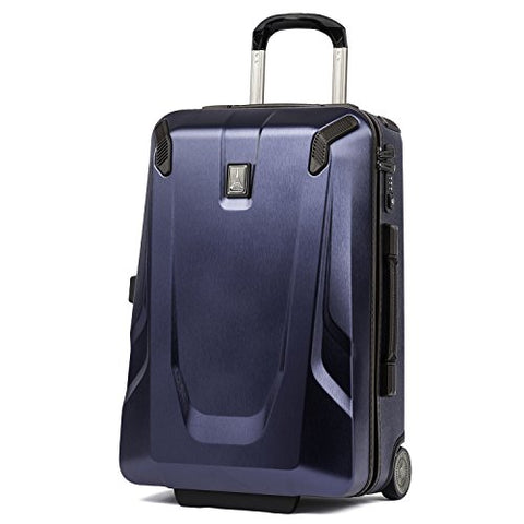 "Travelpro Luggage Crew 11 22"" Carry-On Slim Hardside Rollaboard W/Usb Port, Navy"