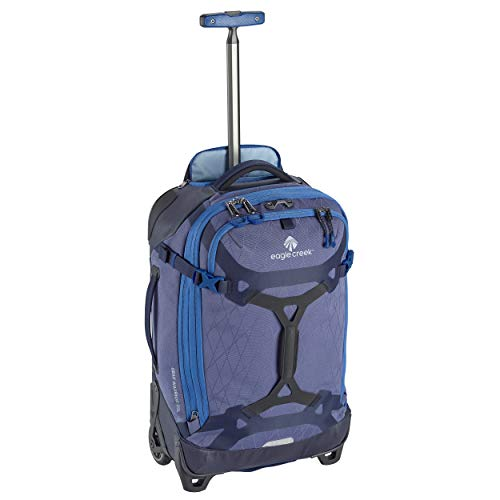 Eagle Creek Gear Warrior Carry-On Rolling Duffel Bag, Arctic Blue
