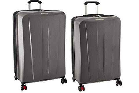 Ricardo Beverly Hills San Clemente 2 Piece Spinner Luggage Set | 26 And 30, Moon Silver