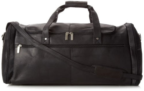 David King & Co. Extra Large Multi Pocket Duffel, Black, One Size
