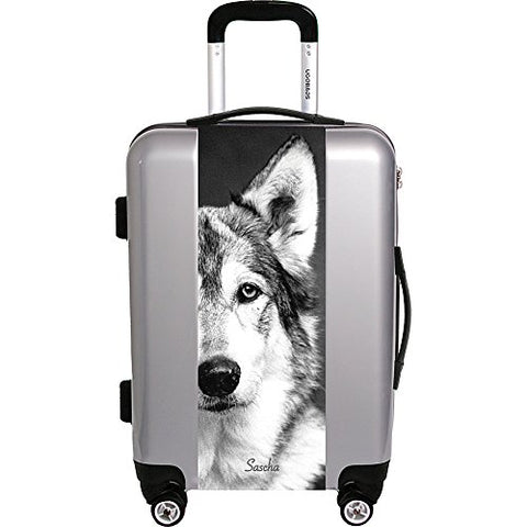 "Ugo Bags Sascha By Compassion 26.5"" Luggage (Silver)"