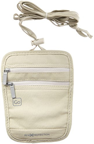 Design Go Rfid Passport Pouch, Beige