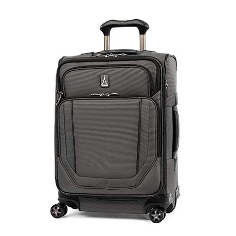 Travelpro Crew Versapack Max Carry-on Exp Spinner, Titanium Grey