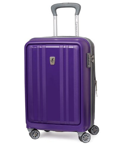 Atlantic Luggage Solstice 20 Inch Hardside Spinner, Brilliant Purple, One Size