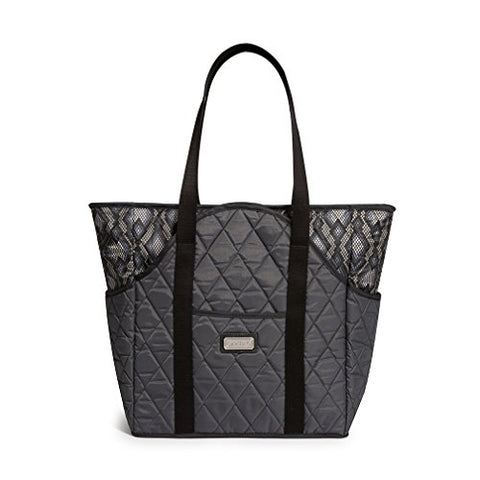 Cinda B. Tennis Court Bag, Python