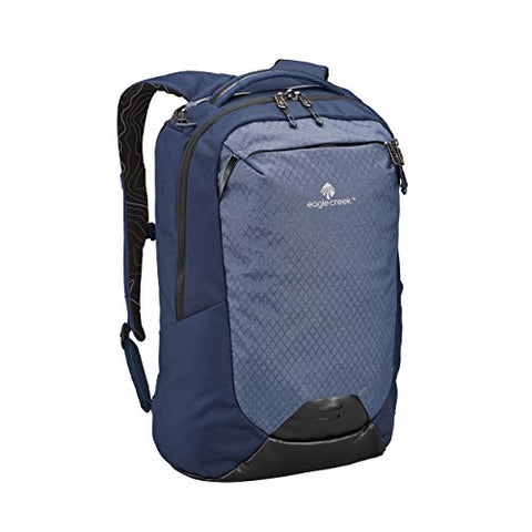 Eagle Creek Wayfinder 30L Backpack-multiuse-17in Laptop Hidden Tech Pocket Carry-On Luggage, Night Blue/Indigo