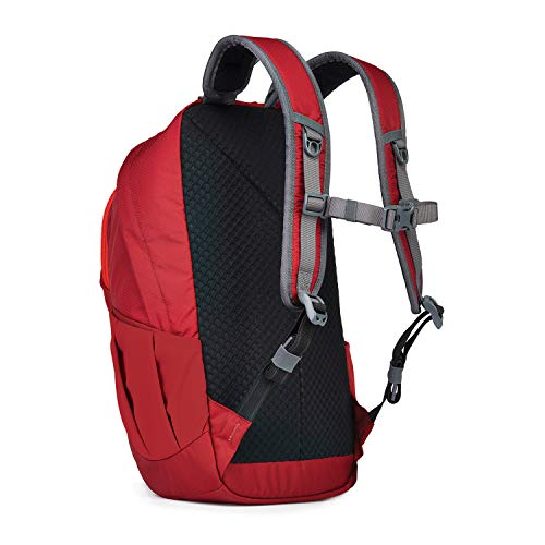 "Pacsafe Venturesafe G3 15L Anti-Theft Daypack - Fits 15"" Laptop, Goji Berry Red"