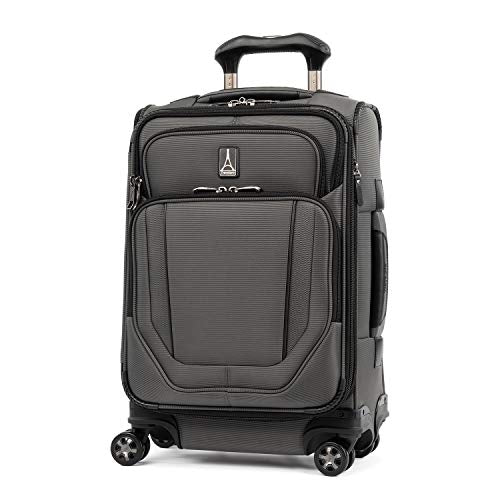 Travelpro Crew Versapack Global Carry-on Exp Spinner, Titanium Grey