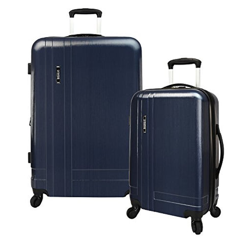 U.S. Traveler Navy 2-Piece Lightweight Expandable Spinner Set