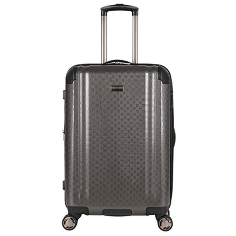 "Ben Sherman 24"" Pap Expandable 8-Wheel Luggage Upright, Charcoal"
