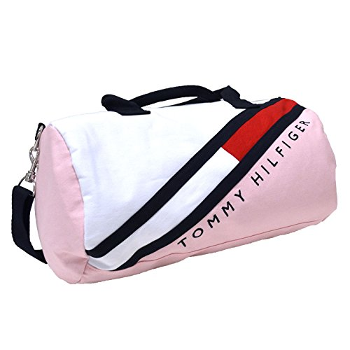 Tommy Hilfiger Small Graphic Logo Duffle (Pink)
