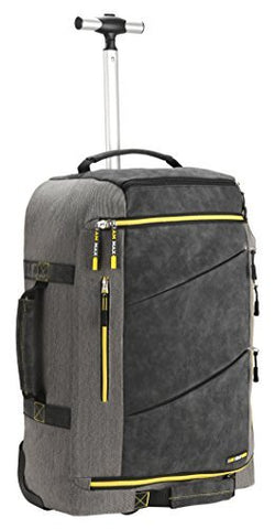 Cabin Max️ Manhattan 2.0 Laptop Backpack with Wheels - Carry On Luggage 22x14x9 6.39lbs - Perfect