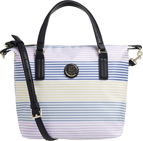 Tommy Hilfiger Poppy Small Stripe Tote Womens Shopper Bag One Size Multi Stripe
