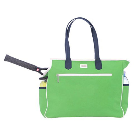 Ame & Lulu Kensington Court Bag (Green/Navy)