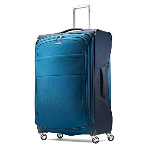 Samsonite Eco Lite Spinner Carry-On Luggage Large Blue Travel Bag