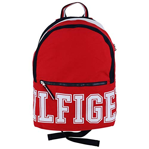 Tommy Hilfiger University Canvas Backpack (Red)