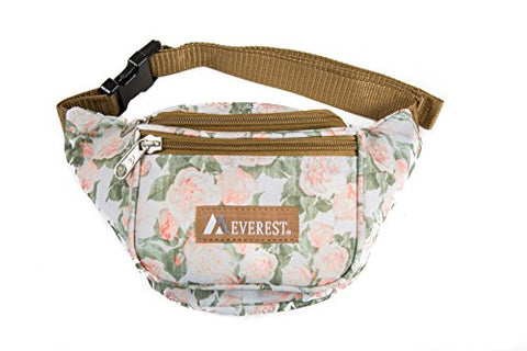 Everest Signature Pattern Waist Pack, Vintage Floral One Size