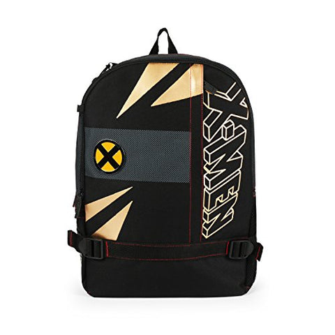 FAB Starpoint Mojo X-Men Black and Gold Tech School Backpack