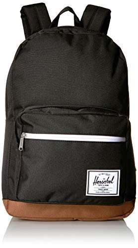 Herschel Pop Quiz Backpack Black/Saddle Brown One Size