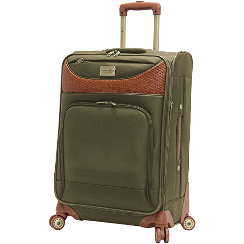 Caribbean Joe 28 Inch 8 Wheel Spinner, Olive Green, One Size